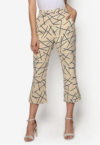 抽象印花長褲, 服飾, 長esprit hk褲及內搭褲