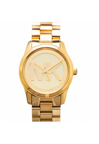 MICHAEL KORS [NEW] Michael Kors Parker Champagne Dial Gold-tone Watch MK5786 EE41DACF53FA5BGS_1