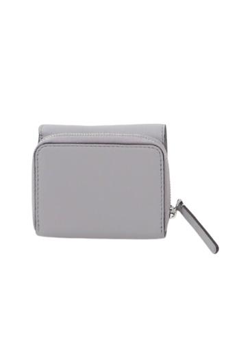 Kate Spade grey Kate Spade Small Jackson WLRU6328 Trifold Continental Wallet In Nimbusgrey 032 B74C5ACD8FC162GS_1