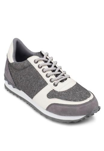 撞色繫帶休閒運動鞋,zalora開箱 女鞋, 休閒鞋