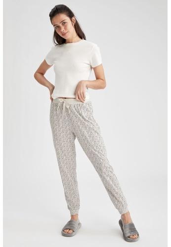 DeFacto beige Woman Homewear Knitted Bottoms 07E1EAADCC2675GS_1