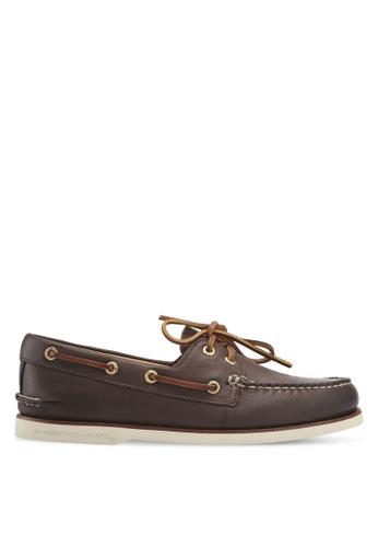 Sperry brown Gold A/O 2-Eye Boat Shoes DB574SH3BD3DA3GS_1