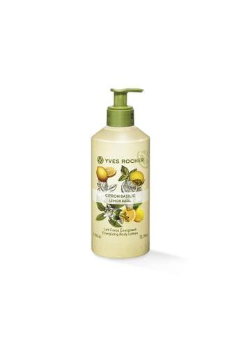 Yves Rocher Energizing Lemon Basil Body Lotion 390ml YV460BE88FHNSG_1