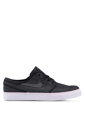 Nike black Nike SB Zoom Stefan Janoski Canvas Deconstructed Shoes 2A315SHED58890GS_1
