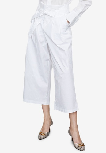 URBAN REVIVO white Casual Trousers DDEF6AACE77791GS_1