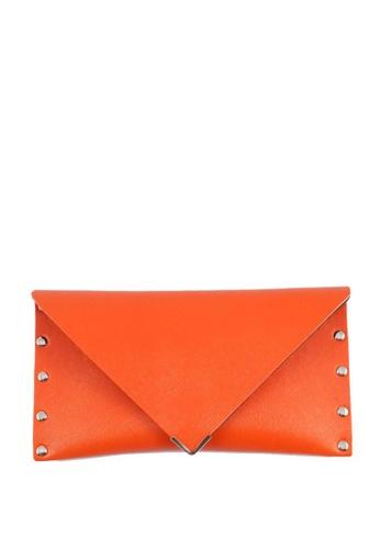 Louiebelle Collection orange Eunice Envelope Wallet LO122AC66IKVPH_1