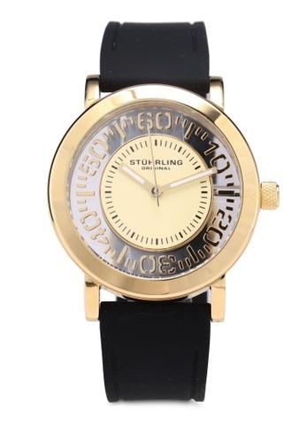 Stuhrling Original black Stuhrling Winchester Watch 830.02 44E8FAC7BA466AGS_1