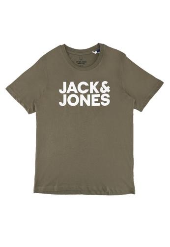 Jack & Jones green Corp Logo Short Sleeves Tee AD8B0KA52B4915GS_1