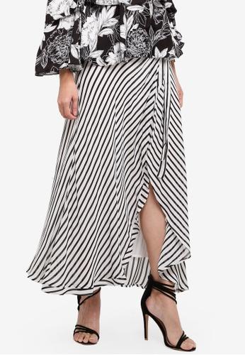 Bardot multi Andie Wrap Skirt 2A1FAAADAC4D15GS_1