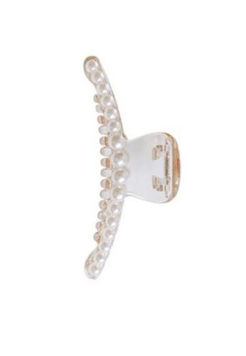 Glamorbit white White Claw Hair Clip 68002AC01F168BGS_1