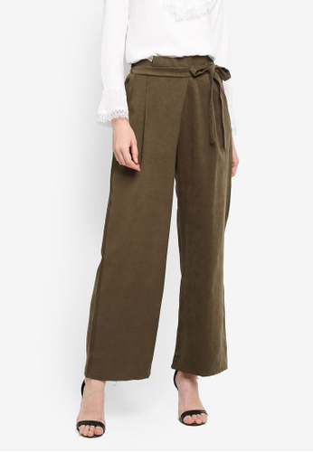 BYN green Palazzo Pant 146A1AA213EDE3GS_1