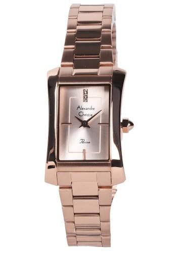 Alexandre Christie gold Alexandre Christie - Jam Tangan Wanita - Rosegold - Stainless Steel Bracelet - 2905LHBRGLN 50D58AC87CFB88GS_1