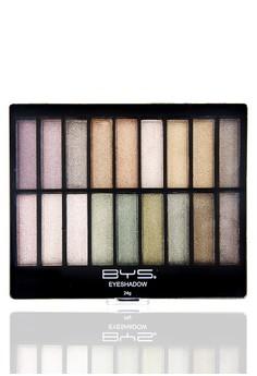 Vertical Eyeshadow - 18 pallet (9x2)
