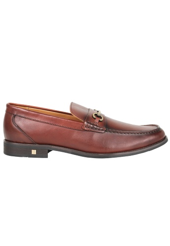 Tomaz red Tomaz F179 Buckled Penny Loafers (WINE) EA600SH36044D4GS_1