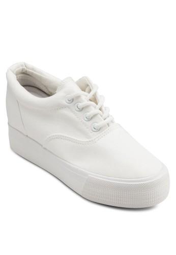厚底楔型esprit高雄門市跟休閒鞋, 女鞋, 鞋