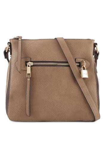 ALDO brown Bucket Crossboy Bag 98438AC4BE42EAGS_1