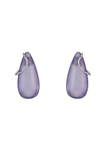 niko and ... purple Teardrop Earrings 6A89AACEEB1DCFGS_1