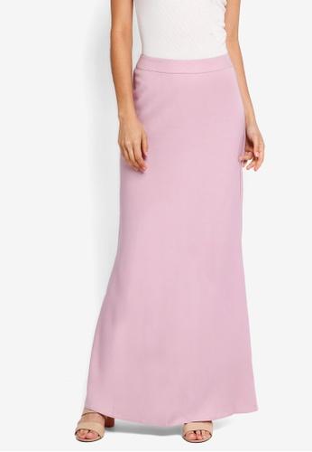 Soonaru pink Mermaid Skirt CFC13AA28F4F31GS_1