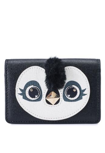 Furla black Allegra S Penguin Card Case (zt) 98FC8ACE982F66GS_1