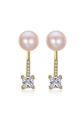 A.Excellence pink Premium Pink 18K Pearl Elegant Earring 40A76AC936FCB7GS_1