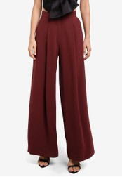 River Island brown Wide Leg Pants RI009AA0SCV2MY_1