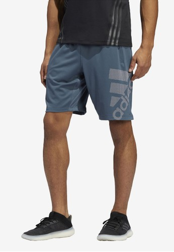 ADIDAS blue 4krft sport graphic short bos BF272AACE34180GS_1