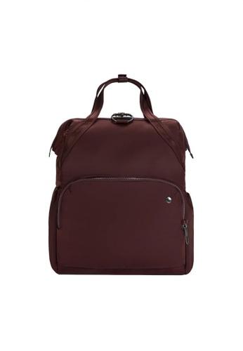 Pacsafe red Pacsafe Citysafe CX Anti-Theft Backpack (Merlot) F2C80AC66AFB56GS_1