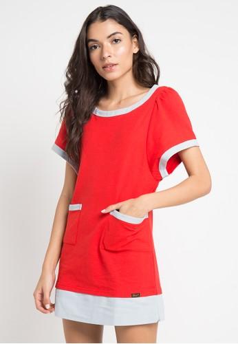 Gaff red Jessica Dress 2F6C6AAC8DEEF4GS_1