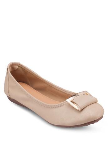 扣環平底esprit holdings鞋, 女鞋, 芭蕾平底鞋