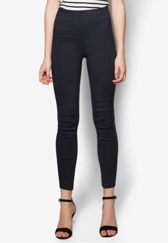 高腰貼身長褲,zalora 評價 服飾, 長褲及內搭褲
