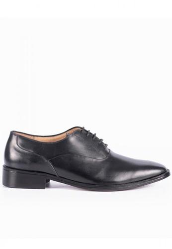 Bristol Shoes black Barlow Plain Toe Oxford 4D8FFSH747F744GS_1