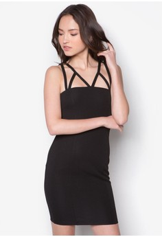 Strap Fitted Dress