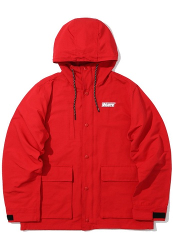 :CHOCOOLATE red Logo jacket F5A8AAAF1F70AEGS_1