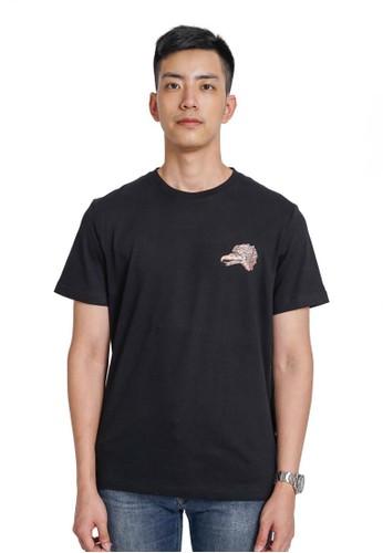 Damn I Love Indonesia black Tee Garuda Wisnu Black Male 5EA4FAA8FC4A02GS_1