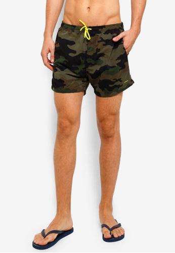 Factorie 多色 Swim Shorts 7D68BAA51E483DGS_1