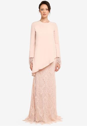 NH by NURITA HARITH pink Kate Kurung Modern 9F534AAD4087EAGS_1