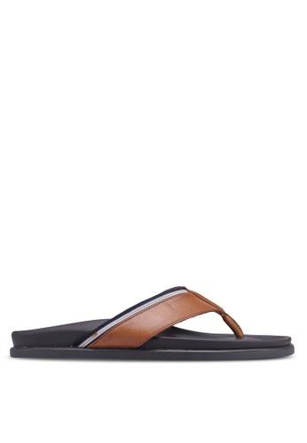 ALDO brown Qoewen Sandals 7733ESH13DA56DGS_1