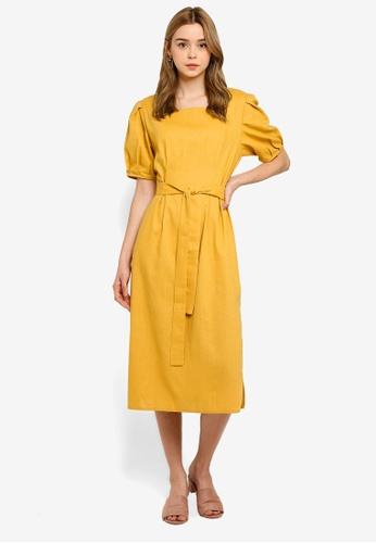 f32065aed Buy NAIN Puff Sleeve Square Neck Dress Online on ZALORA Singapore