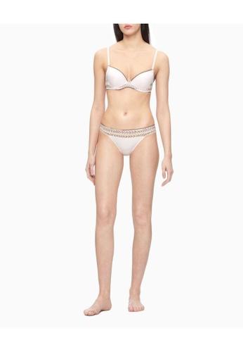 Calvin Klein Calvin Klein Women Stripe Lace Bikini QF5875AD2NT A8DB7US98B38DAGS_1