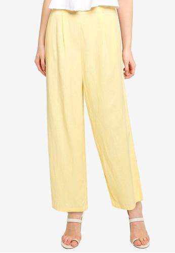 Cotton On yellow Wide Leg Paradise Pants 75089AA4C3C61BGS_1