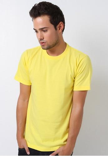 Guitar yellow Regular Round-Neck Shirt GU661AA90VOVPH_1