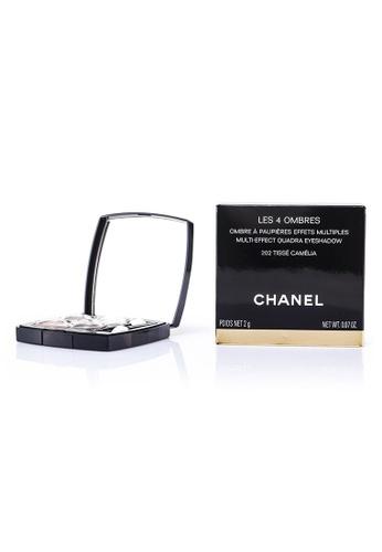 Chanel CHANEL - Les 4 Ombres Quadra Eye Shadow - No. 202 Tisse Camelia 2g/0.07oz 4CA89BEED07864GS_1