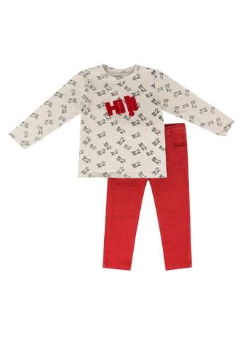 Babybol brown 2 Pieces Kids Set 3778FKA458EED1GS_1