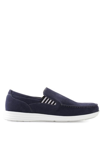 Dr. Kevin blue Loafers, Moccasins & Boat Shoes Shoes 13232 Suede DR982SH77GVUID_1
