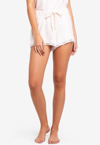 Dorothy Perkins pink Blush Loungewear Shorts 6DC20AA67A70BFGS_1