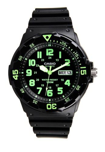 Casio black Unisex Analog Watches MRW-200H-3BVDF CA347AC0V9DYID_1