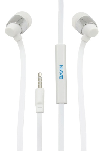 BAVIN white Sound Beat for Android IOS Earphone 06A4EACB1BFD29GS_1
