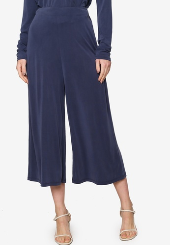 Origin by Zalora navy Jersey Culottes made from TENCEL™ 84A74AAC779752GS_1
