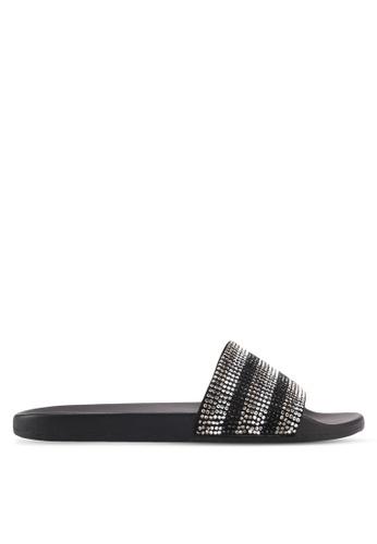 ALDO black Gloari Beach Sandals 1340ESHB8EDA61GS_1