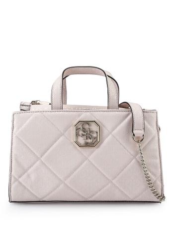 Guess pink Dilla Society Satchel Bag 1090FACCCD9EADGS_1
